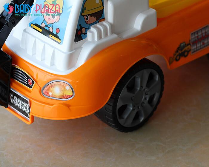 Chòi chân mô hình xe máy xúc QX3353 6