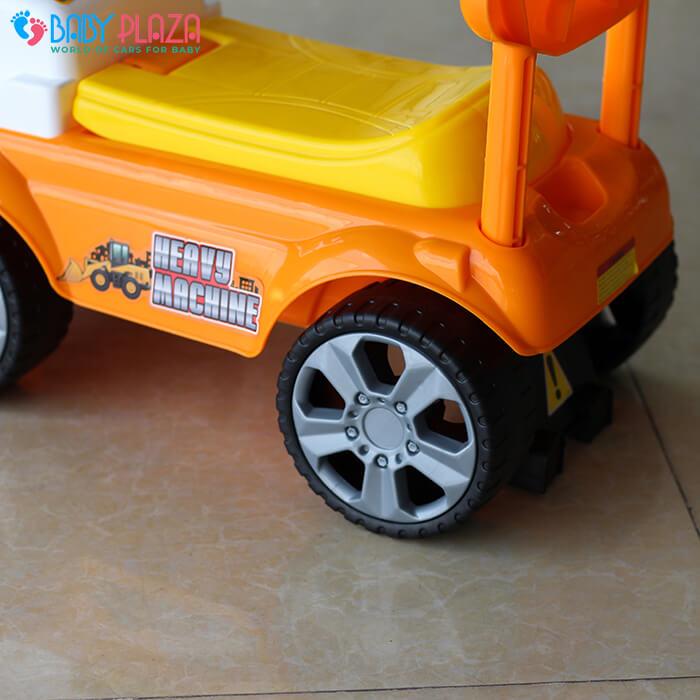 Chòi chân mô hình xe máy xúc QX3353 9