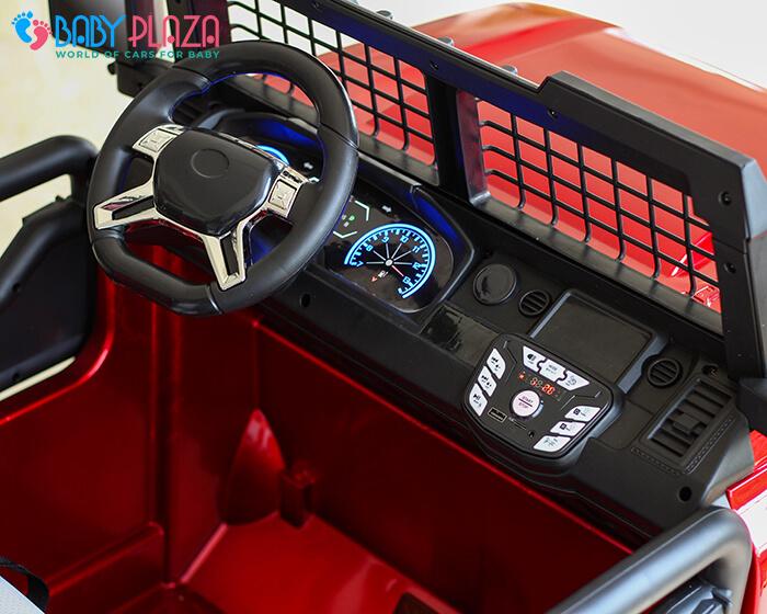 Ô tô điện Jeep khủng 2 chỗ ngồi LW-9199 11