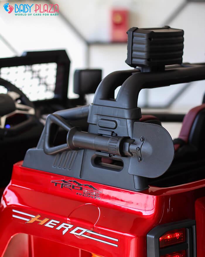 Ô tô điện Jeep khủng 2 chỗ ngồi LW-9199 14