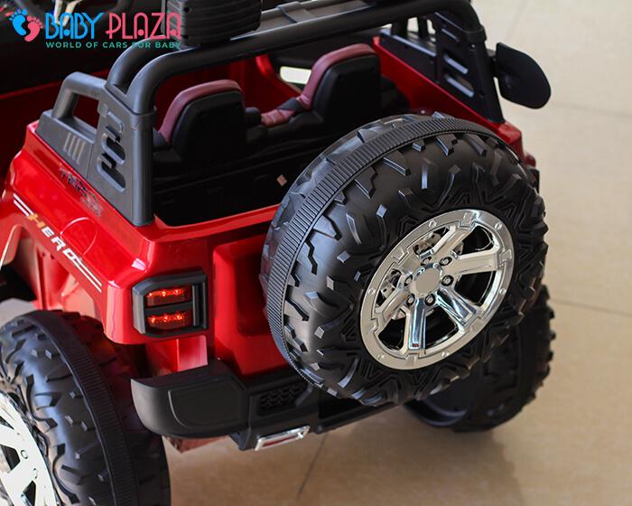 Ô tô điện Jeep khủng 2 chỗ ngồi LW-9199 15