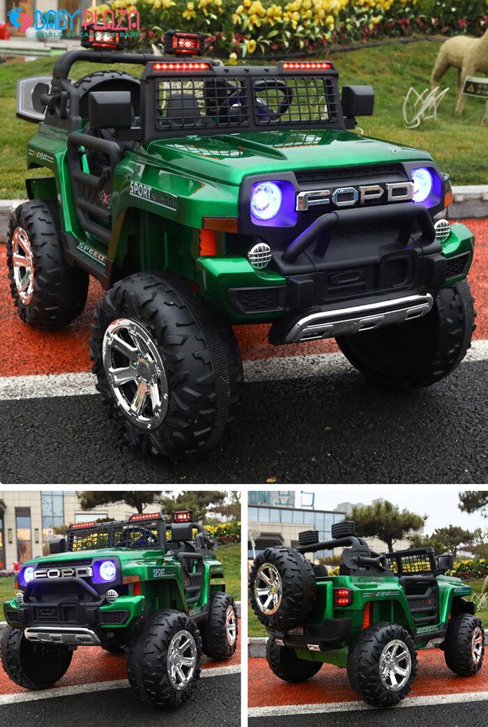 Ô tô điện Jeep khủng 2 chỗ ngồi LW-9199 2