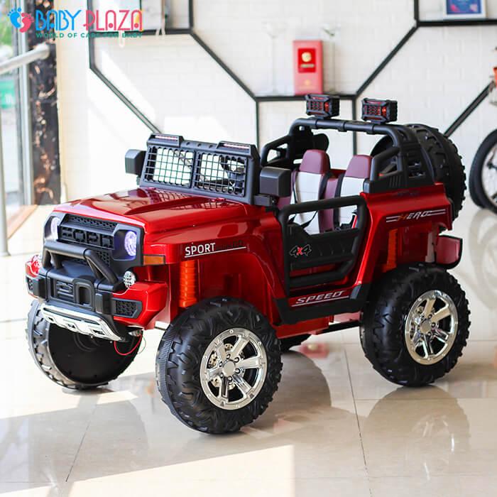 Ô tô điện Jeep khủng 2 chỗ ngồi LW-9199 6