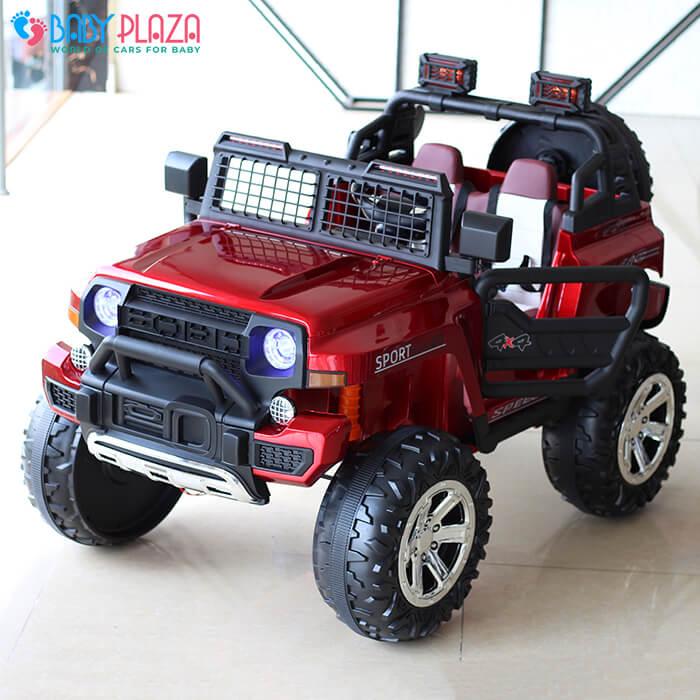Ô tô điện Jeep khủng 2 chỗ ngồi LW-9199 7