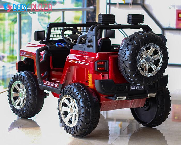 Ô tô điện Jeep khủng 2 chỗ ngồi LW-9199 8