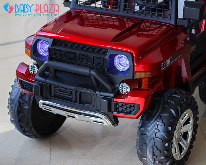 Ô tô điện Jeep khủng 2 chỗ ngồi LW-9199 9