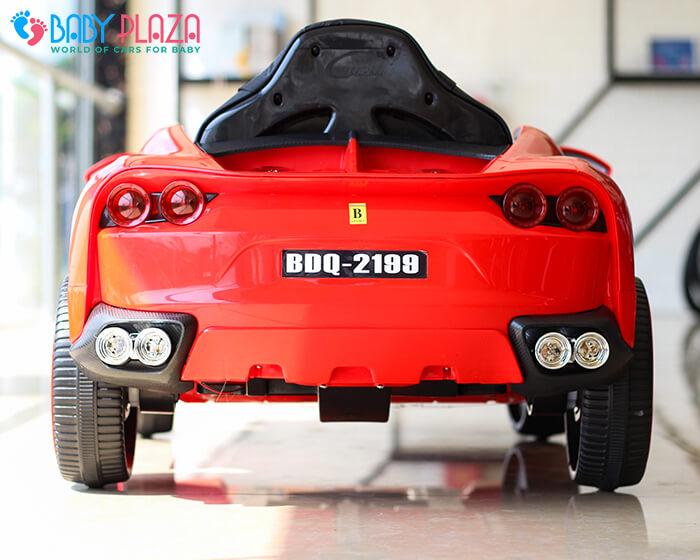 Xe hơi điện trẻ em BDQ 2199 ghế da 11