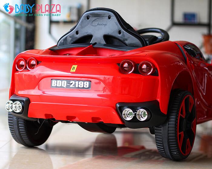 Xe hơi điện trẻ em BDQ 2199 ghế da 17