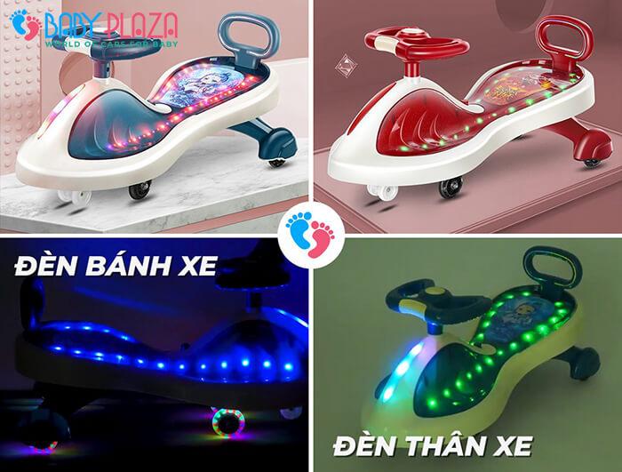 Xe lắc đồ chơi cho trẻ có đèn, nhạc XL-630 1