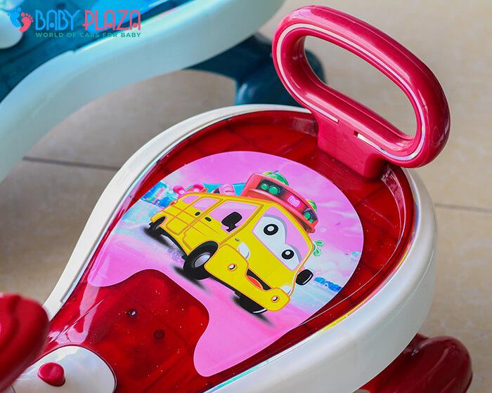 Xe lắc đồ chơi cho trẻ có đèn, nhạc XL-630 11