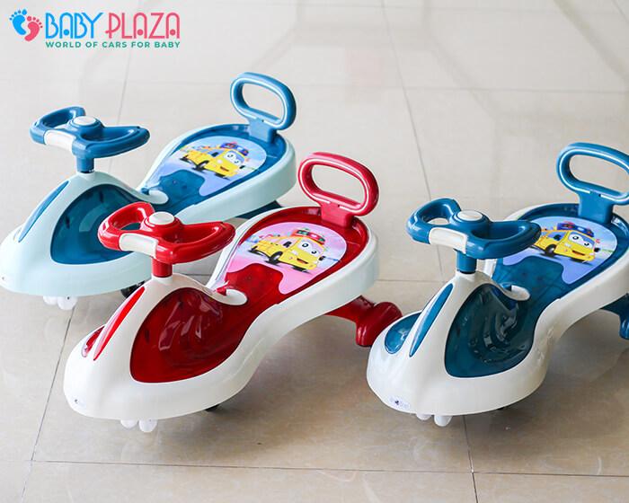 Xe lắc đồ chơi cho trẻ có đèn, nhạc XL-630 2