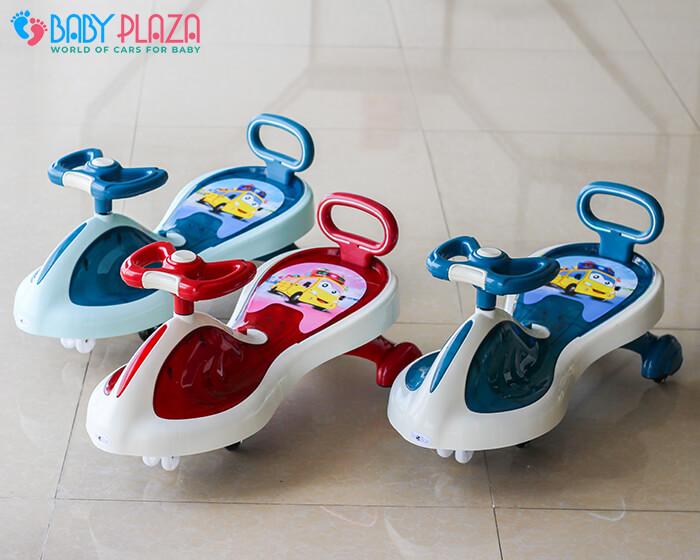 Xe lắc đồ chơi cho trẻ có đèn, nhạc XL-630 3