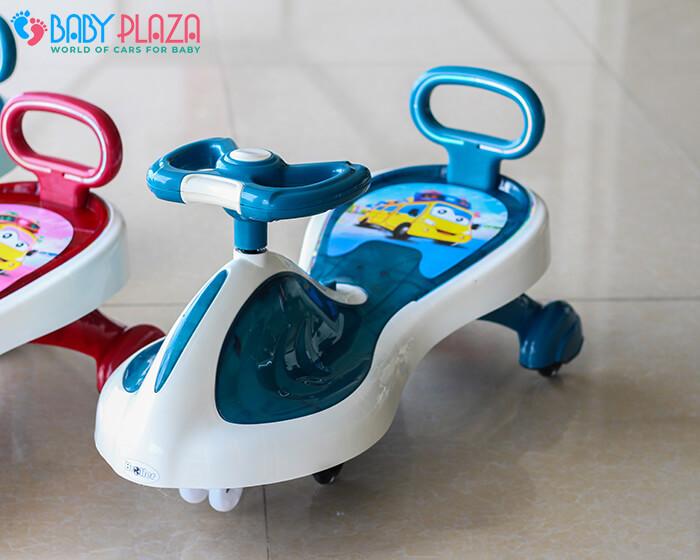 Xe lắc đồ chơi cho trẻ có đèn, nhạc XL-630 4
