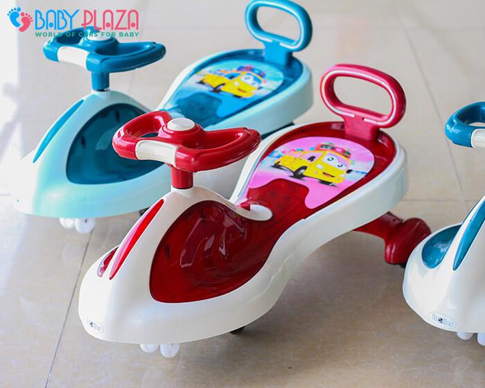 Xe lắc đồ chơi cho trẻ có đèn, nhạc XL-630 5