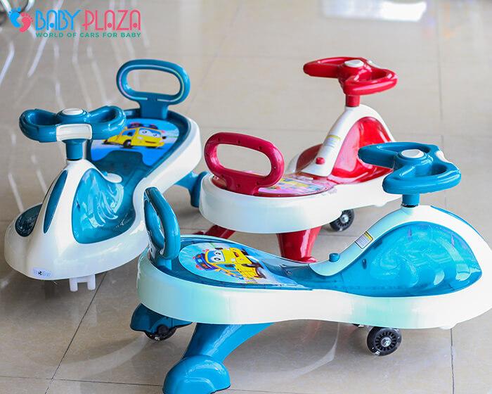 Xe lắc đồ chơi cho trẻ có đèn, nhạc XL-630 6