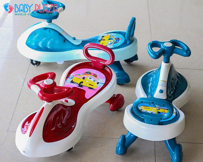 Xe lắc đồ chơi cho trẻ có đèn, nhạc XL-630 7
