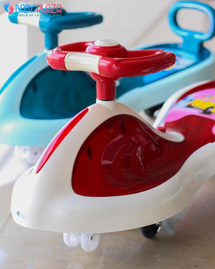Xe lắc đồ chơi cho trẻ có đèn, nhạc XL-630 8