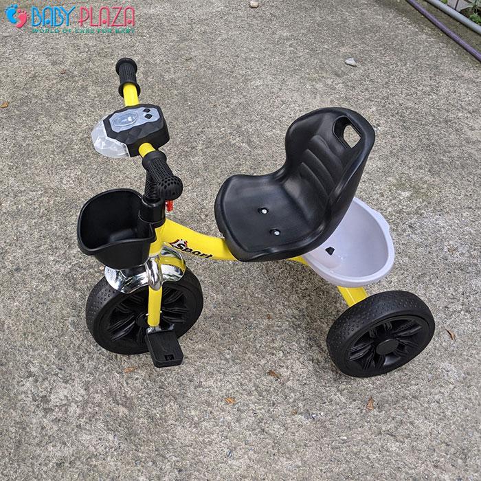 Xe đạp 3 bánh có đèn có nhạc Broller 916 10