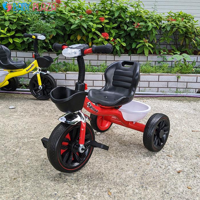 Xe đạp 3 bánh có đèn có nhạc Broller 916 12