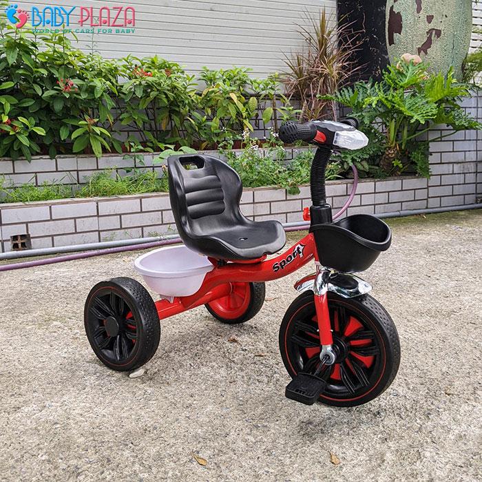 Xe đạp 3 bánh có đèn có nhạc Broller 916 13