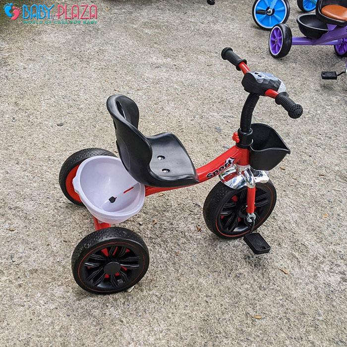 Xe đạp 3 bánh có đèn có nhạc Broller 916 14