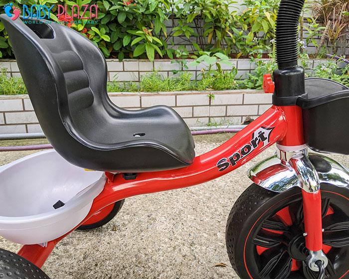 Xe đạp 3 bánh có đèn có nhạc Broller 916 18