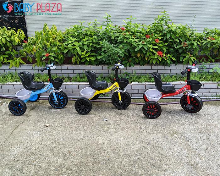 Xe đạp 3 bánh có đèn có nhạc Broller 916 3