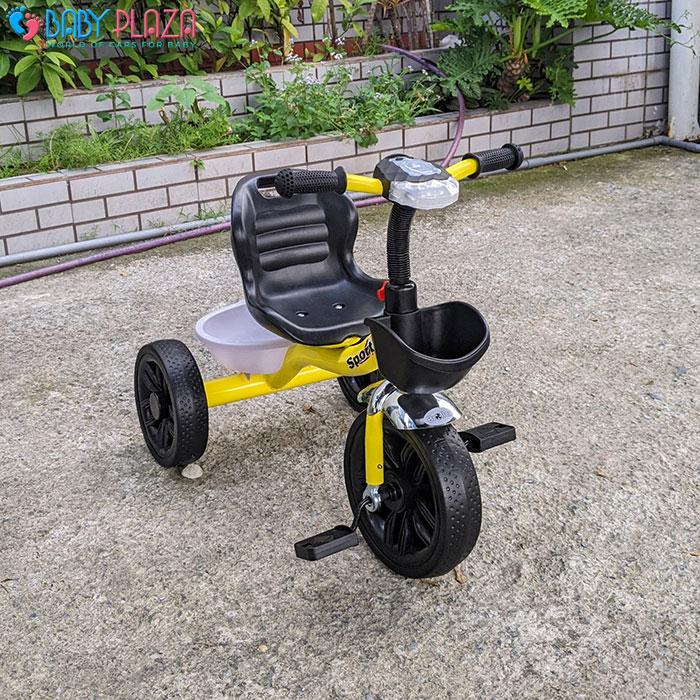 Xe đạp 3 bánh có đèn có nhạc Broller 916 9